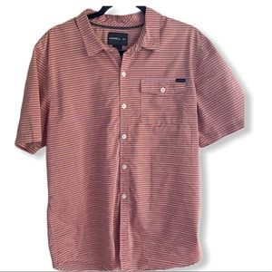 O'Neill casual cotton blend iconic button down M